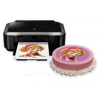Сахарная бумага с печатью