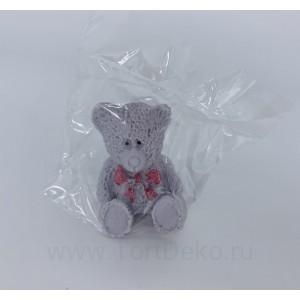 """Сахарные фигурка """"Медвежонок серый"""", 40*40*50 мм"""