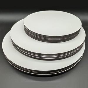 Сатиновая подложка для торта, D=340 мм, толщина 6 мм