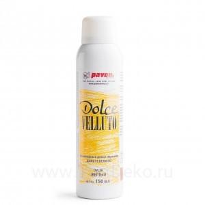 """Шоколадный велюр """"Dolce Velluto"""", желтый, 150 мл"""