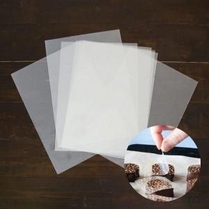 Шокотрансферная бумага, (25 шт)