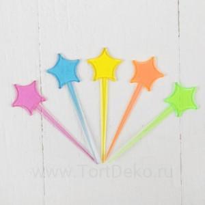 "Шпажки для канапе ""Звезда"" (набор 24шт)"