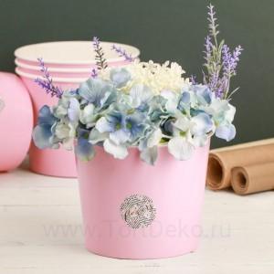 Стаканчик для цветов Flowers, 13,5 × 16 см
