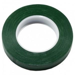 Тейп лента флористическая широкая Темно-зеленая