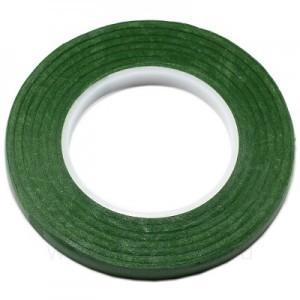 Тейп лента флористическая узкая Зеленая