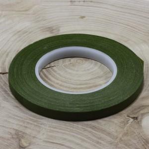 Тейп лента флористическая узкая Зеленый мох