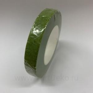 """Тейп-лента """"Светло-зелёная"""", намотка 27,3 метра, ширина 12 мм"""