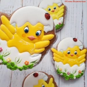 "Трафарет + форма ""Цыпленок в яйце"""