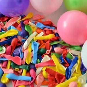 Воздушные шарики для торта цветные, 20 шт